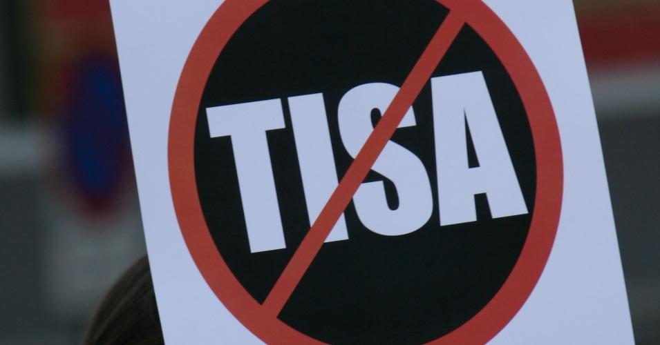 TISA-plakat