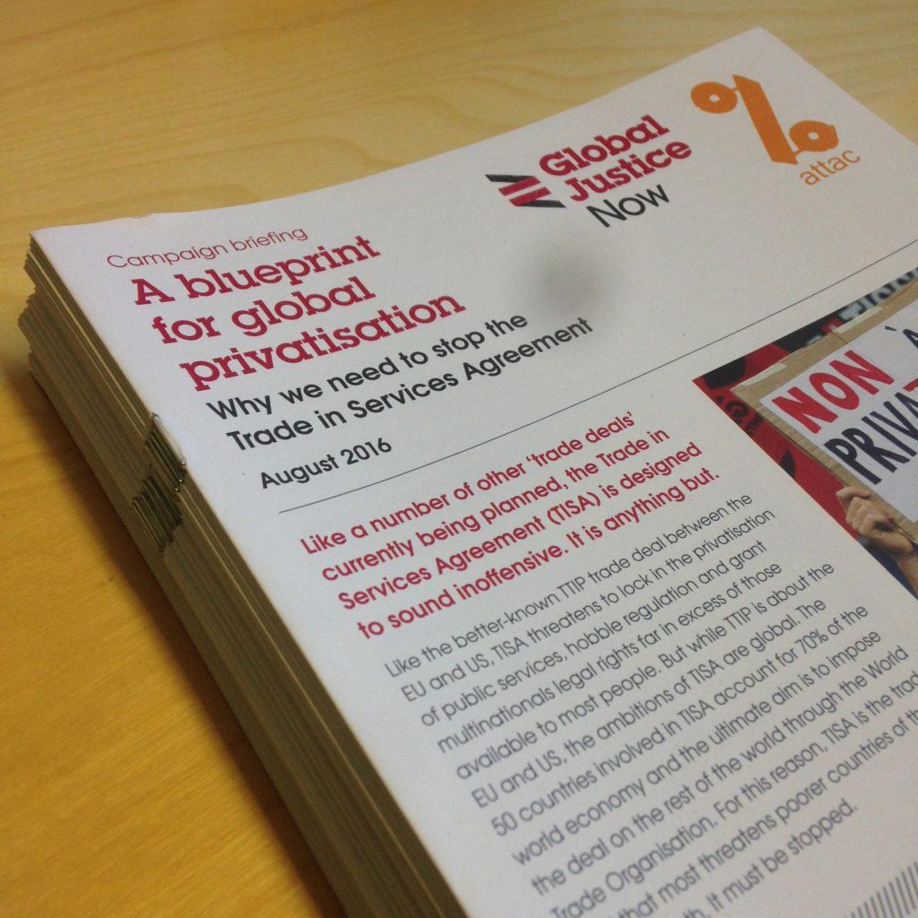 Rapporten er skrevet av Global Justice Now i samarbeid med Attac Norge.