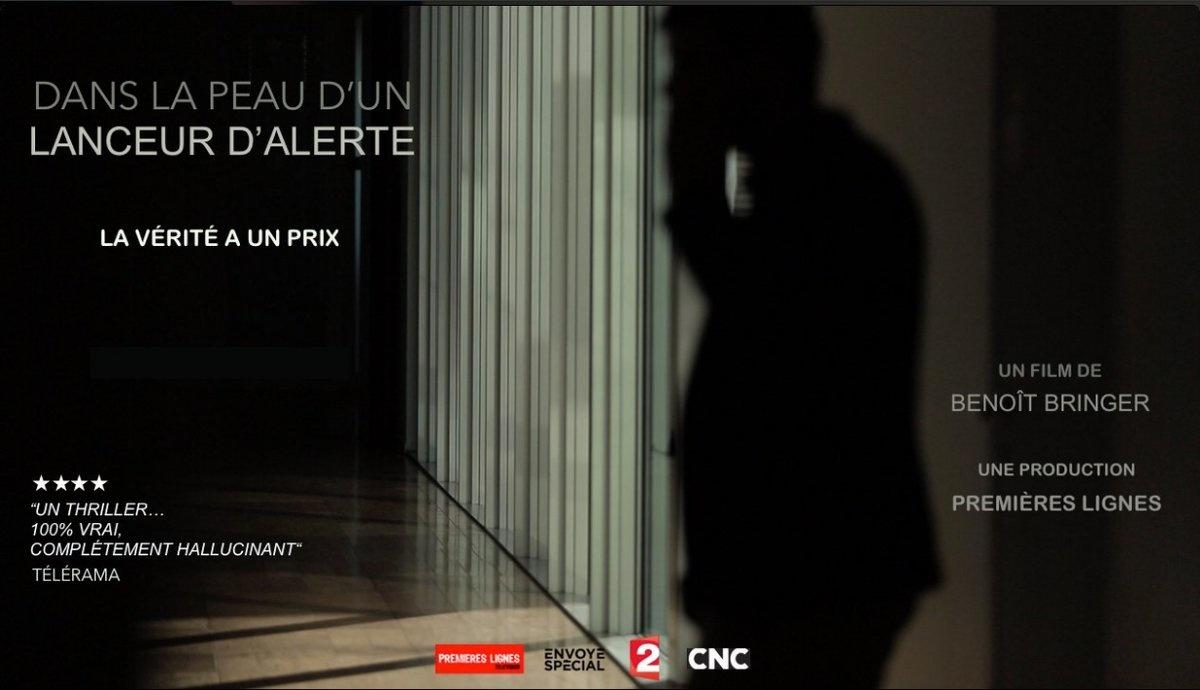 Filmplakat: Under huden til en varsler - Dans la peau d un lanceur d alerte