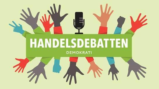 Handelsdebatten - demokrati