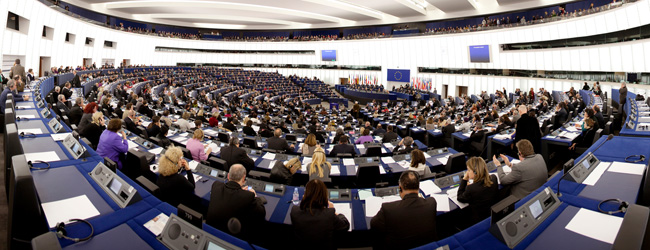 EU-parlamentssesjon © European Parliament - Audiovisual Unit