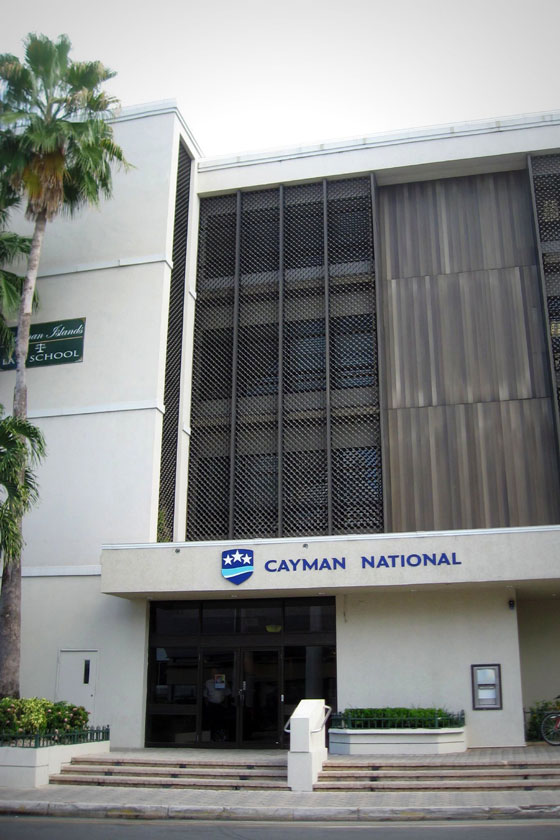 Bank på Cayman Islands