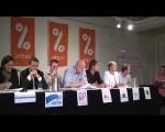 Politikere fra alle partier diskuterer finanskrisa