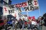Vår verden er ikke til salgs - demonstrasjon i Tromsø 2007