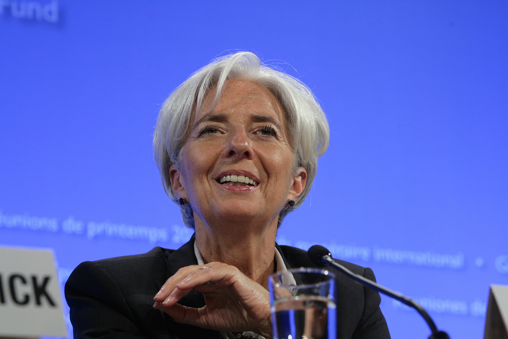 Christine Lagarde, IMF (Foto: Simone D.McCourtie / World Bank CC-ND-NC)
