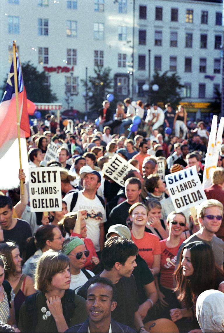 Demonstrasjonen i Oslo 2002