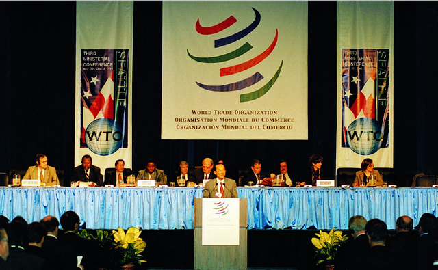 Seattle Ministerial Conference 30 November - 3 December 1999 CC-BY-SA WTO