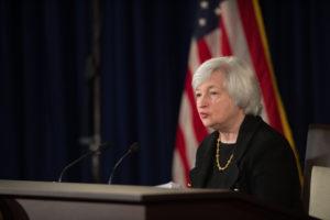 Janet Yellen, sjef for den amerikanske sentralbanken