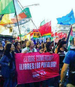 Demonstrasjoner under WTO-toppmøtet i Argentina 2017