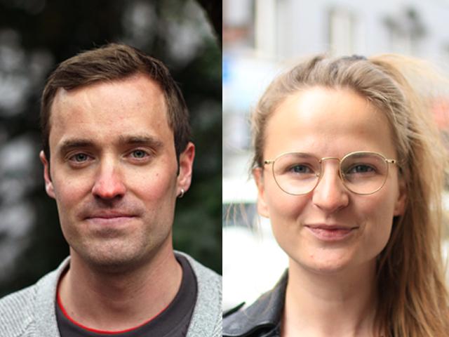 Petter Slaatrem Titland og Martine Kopstad Floeng