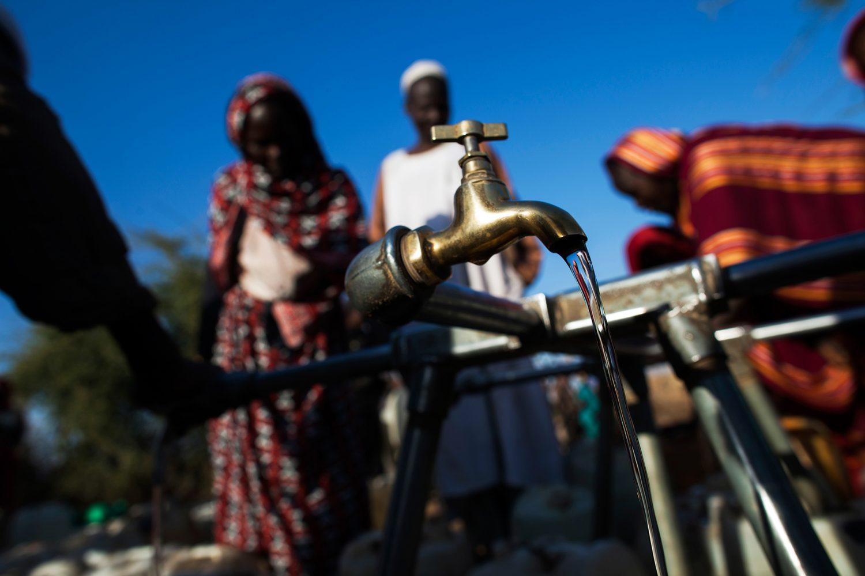 Illustrasjonfoto vannkran