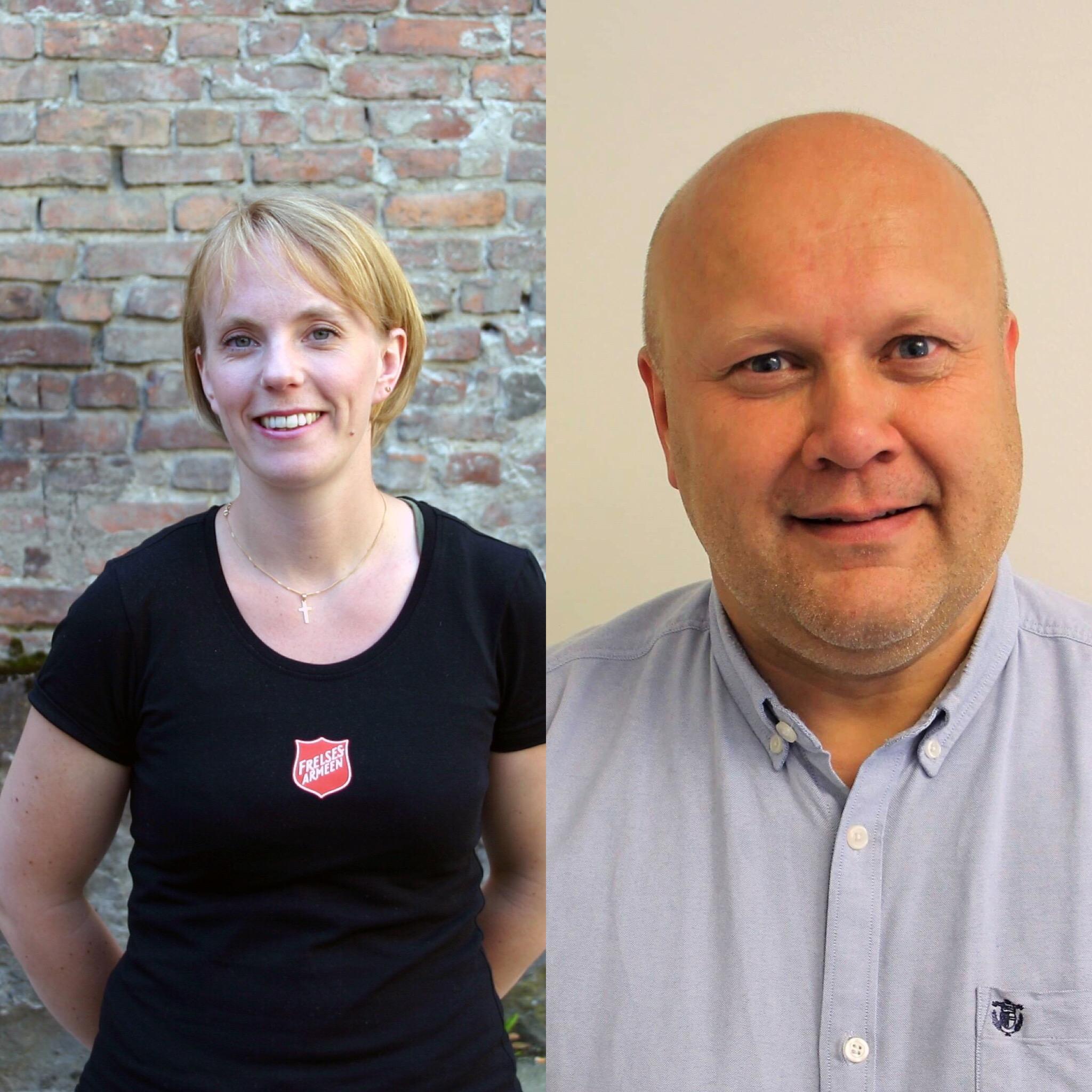 Erhard Hermansen og Petra Brooke