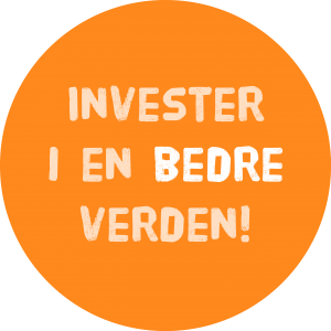 Logo: Invester i en bedre verden
