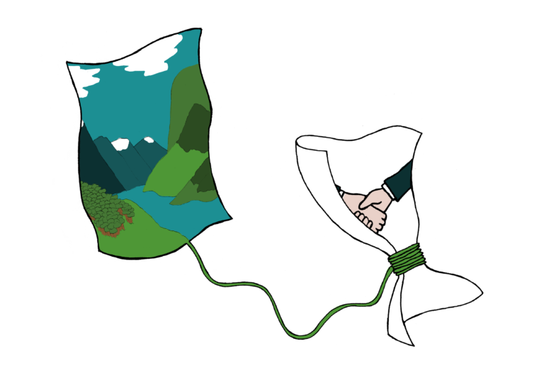 Illustrasjon: Naturen binder opp avtaler