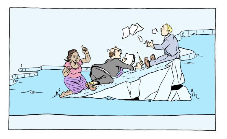 Illustrasjon: Forhandlinger
