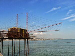 Fiskerhytte ved Adriaterhavet